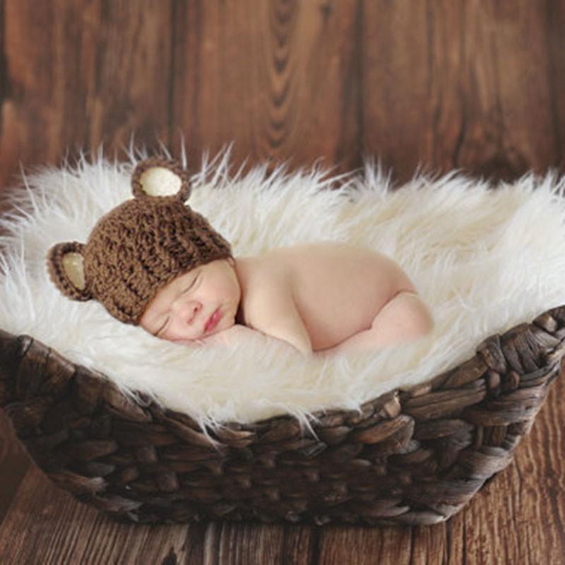 Newborn Baby Blanket Boys Girls Stretch Wrap Infant Photography Photo Prop Rug