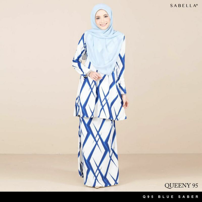 Sabella Queeny Kurung  Size L [Ready Stock]