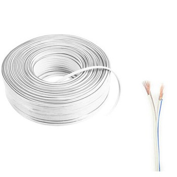 WAYER TWIN FLAT CABLE 2C X 23 /0.14MM (FULL COPPER)