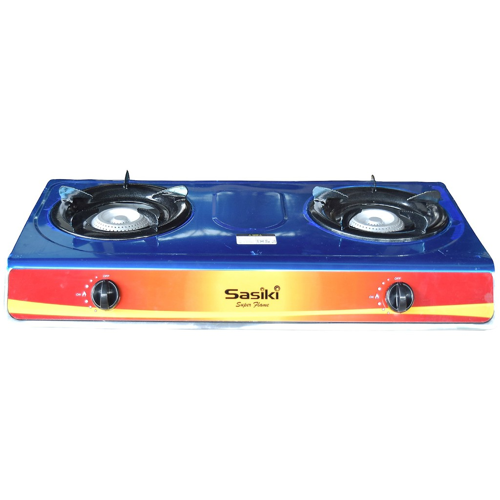 Chelstar Stainless Steel Double Burner Gas Cooker J 7777 Sho Malaysia