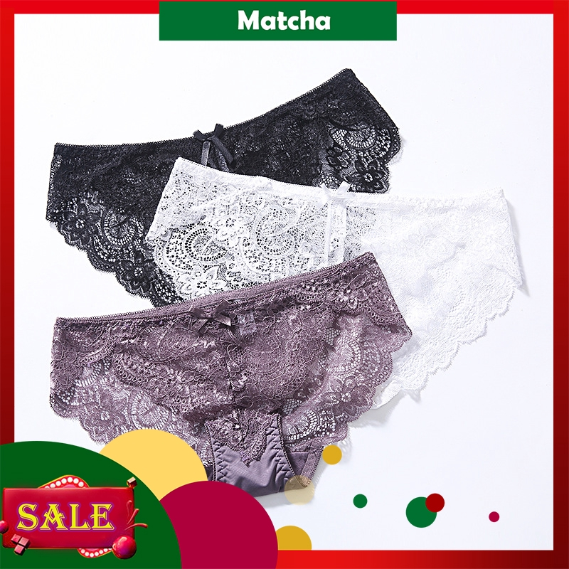 befddc87346a WOMEN Sexy Lace Underwear High-Rise Thongs Straps Hollow G-String Panties |  Shopee Malaysia