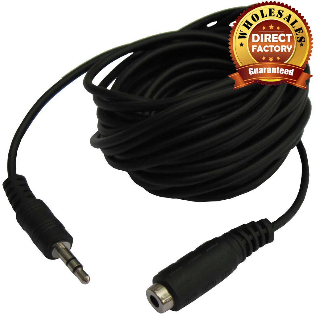 3 5mm 5meter Audio Extension Cable