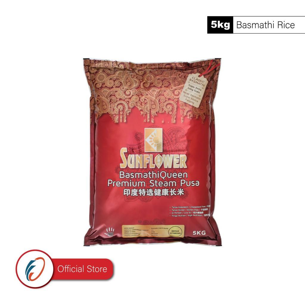 Sunflower Basmathi Queen Premium Basmathi Steam Pusa (5kg)