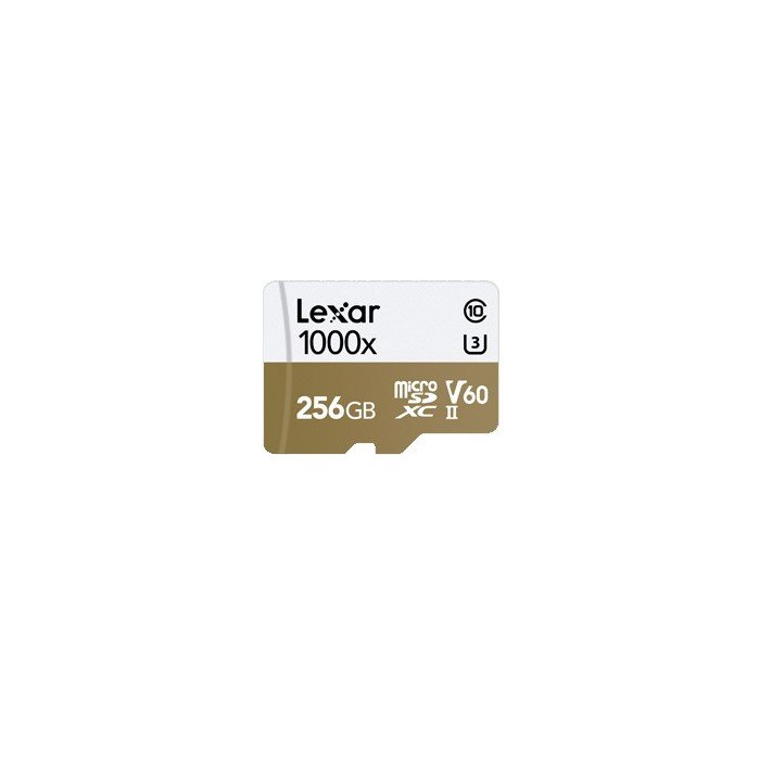 Lexar Professional 256GB MicroSDXC 1000x Class 10 with Card Reader Read 150MB/s