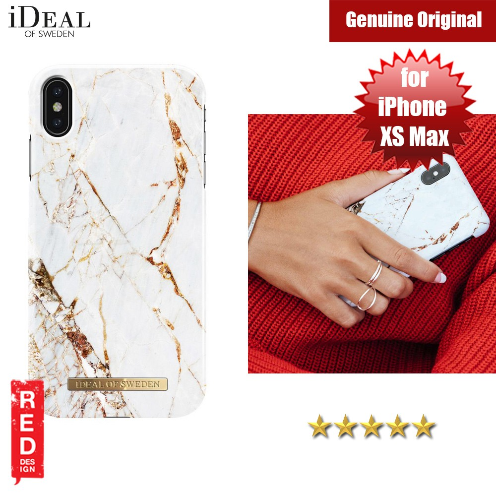 hot sale online e0efd 0a0fb iDeal of Sweden Fashion Hard Cover Back Case for Apple iPhone XS Max (Gold)