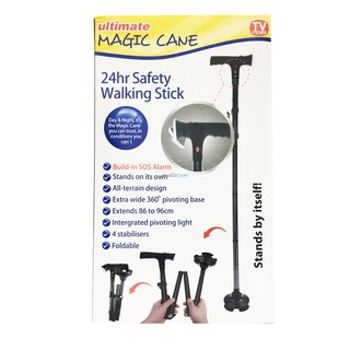 Sos Alarm Ultimate Magic Cane 24hr Safety Walking Stick As