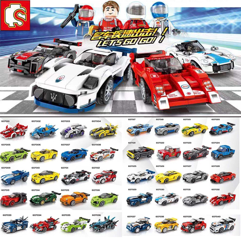 Lego New Porsche Mechanic Female Race Car Minifigure Fig