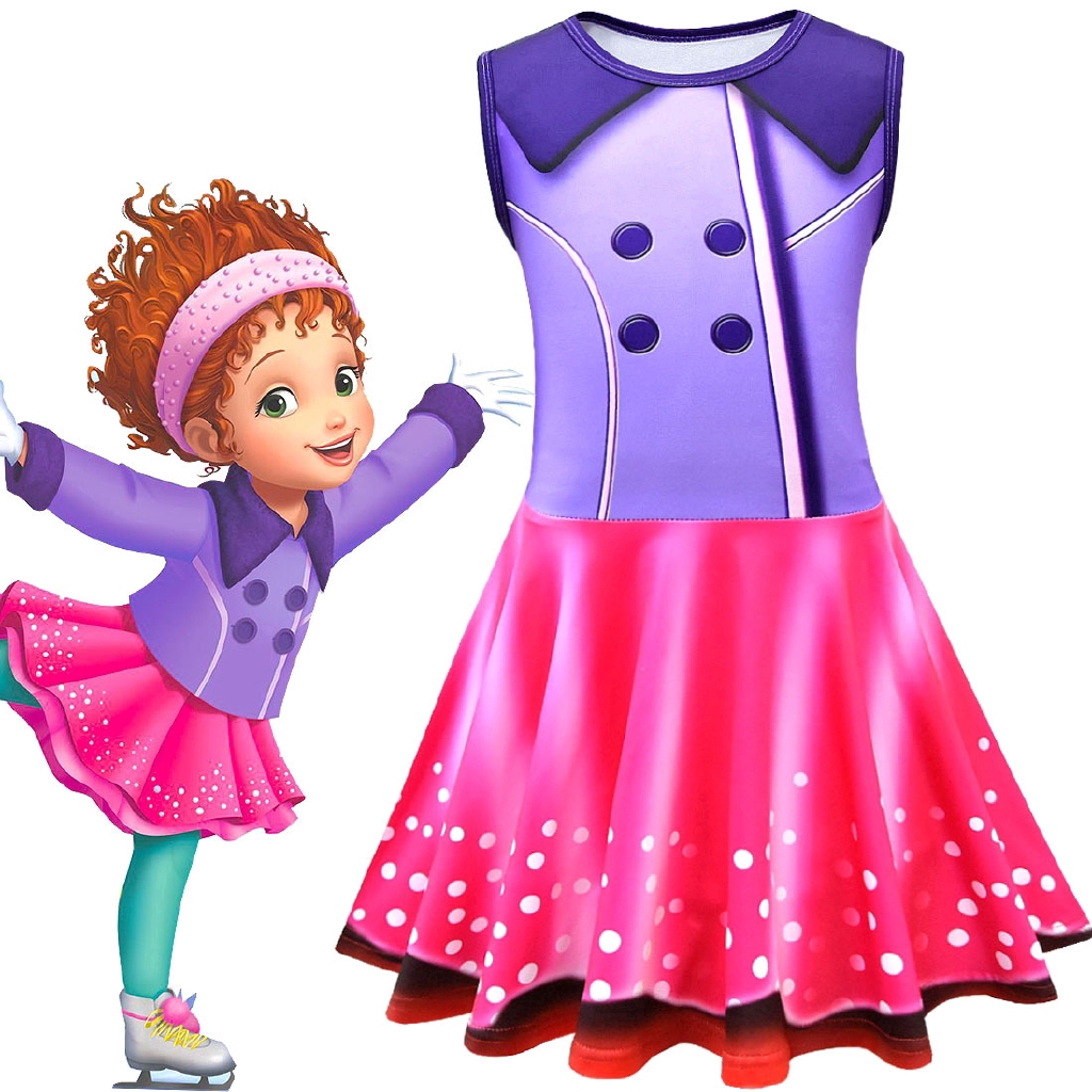 057b853a250 New fancy nancy beautiful Nancy cosplay tank skirt in the long section 2-6  years old children summer