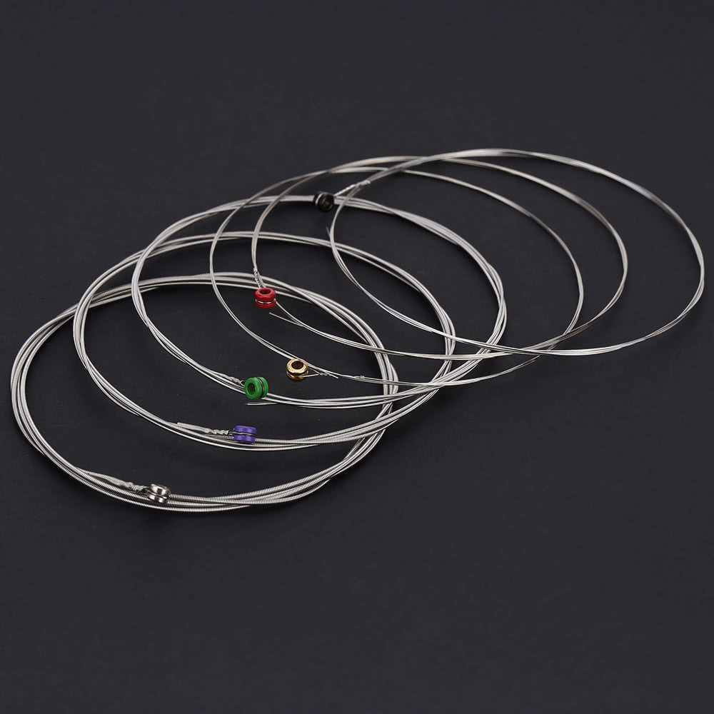 Orphee RX15 6pcs Electric Guitar String Set (silver)