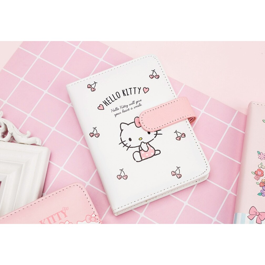 Hello Kitty Cute Stationery Schedule Book Study Working Notebook Dairy Planner Book 2021