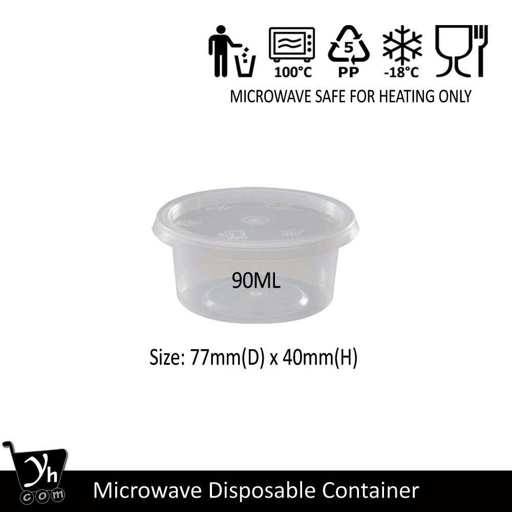 Microwave Disposable Round Container