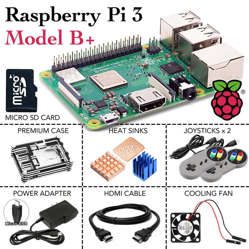 Raspberry Pi 3 Model B+ Quad Core 1 4GHz 5GHz WiFi 4 USB 0 2 Ports  Bluetooth 4 2