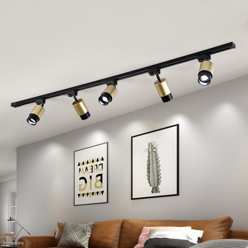 Nordic Spotlight Womenswear Shop Studio Led Ceiling Lamp Home Living Room Sofa Tv Wall Cloakroom Track Light Shopee Malaysia