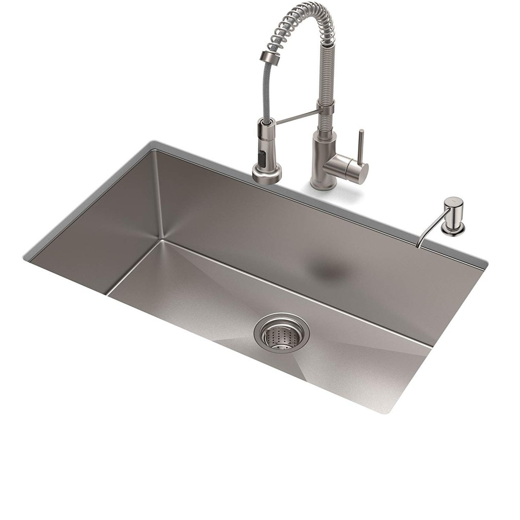 Super Deep Handcraft Undermount Sink Sus 304 Stainless Steel Kitchen Sink Shopee Malaysia