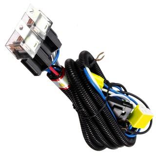 H4 Headlight Ceramic Relay Wiring Harness 2 Headlamp Light Bulb Fix on