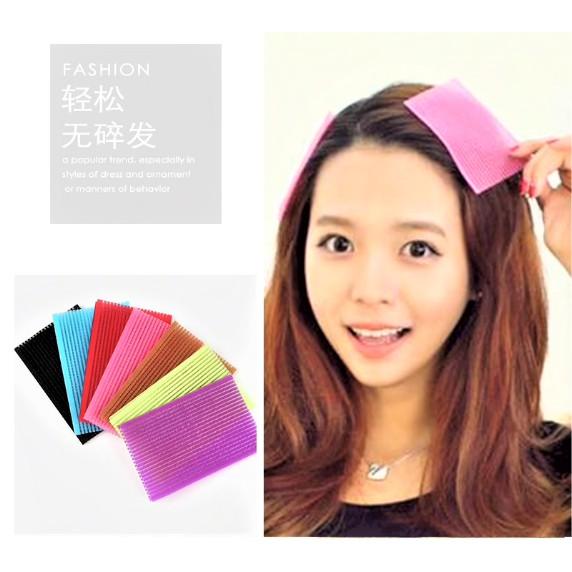 Hair Magic Sticker Holder Front Hair Fringe Makeup Sticker Hair Bangs Hold Magic Sticker Colorful Black 2 Pcs