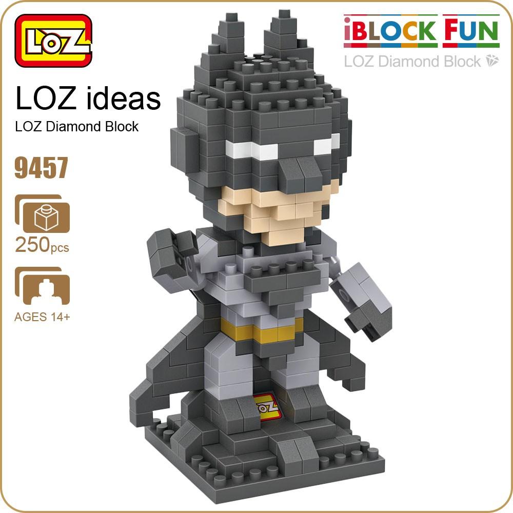 Loz Diamond Blocks Architecture Mini Street View Restaurants 9387 Nano Statue Of Liberty Building Shopee Malaysia