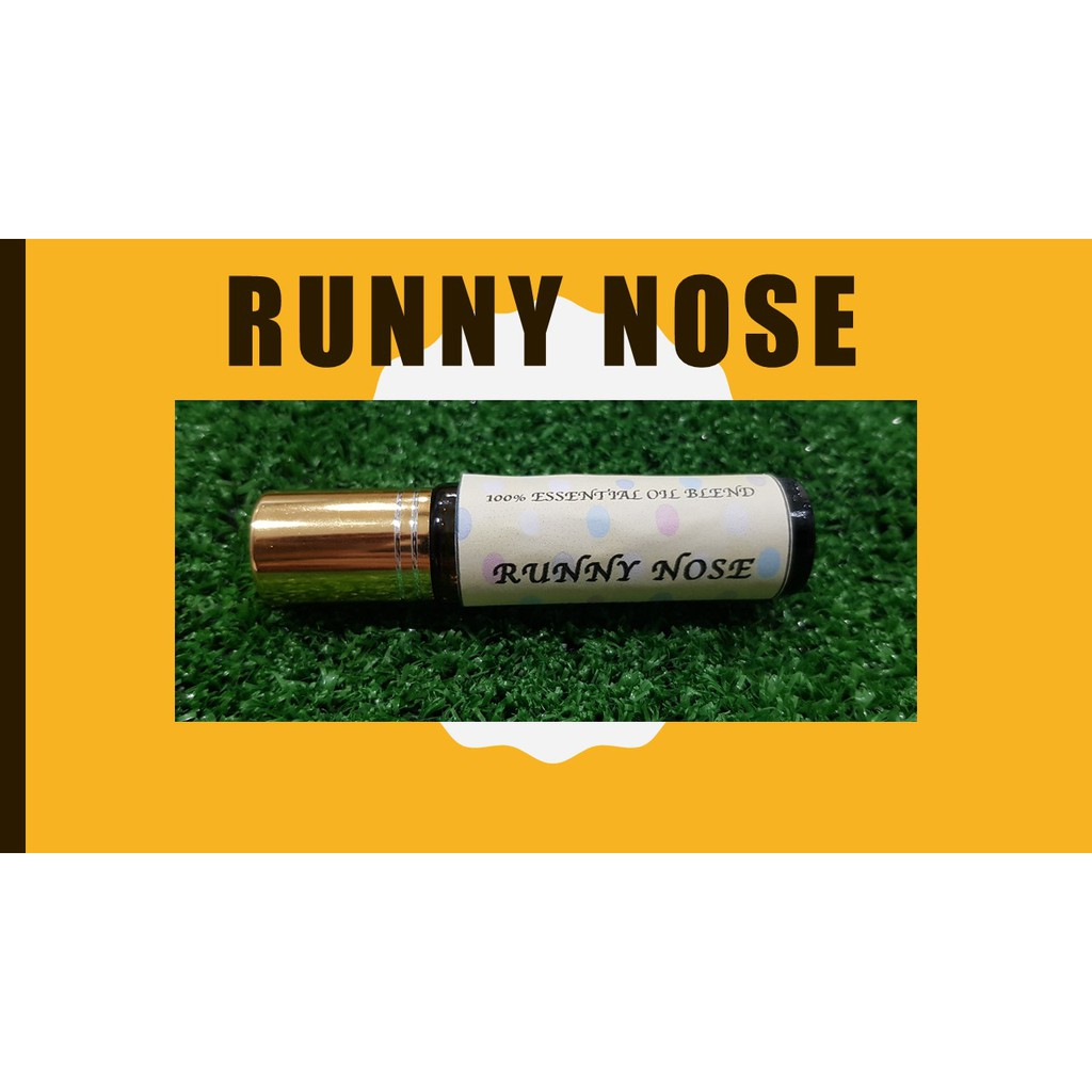 Roll On Essential Oil Prediluted Essential Oil Blend Runny Nose Nose Block Flu Shopee Malaysia