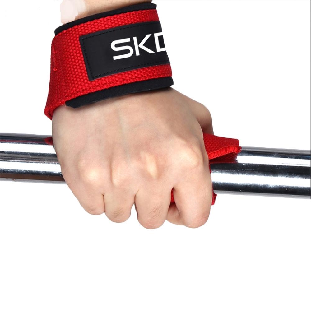 Onex Weight Lifting Bar Straps Wraps Body Building Gym Deadlift Training