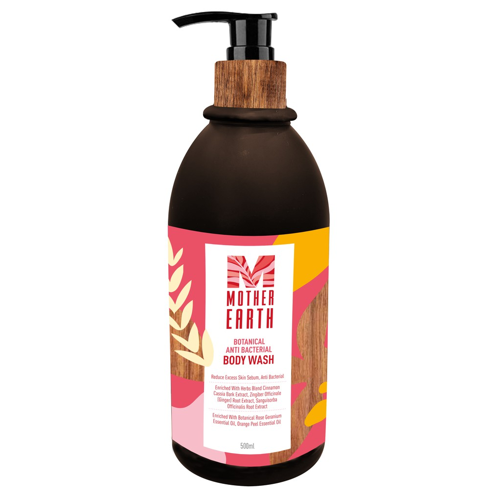 HLP Mother Earth Botanical Anti-Bacterial Body Wash (500ml)
