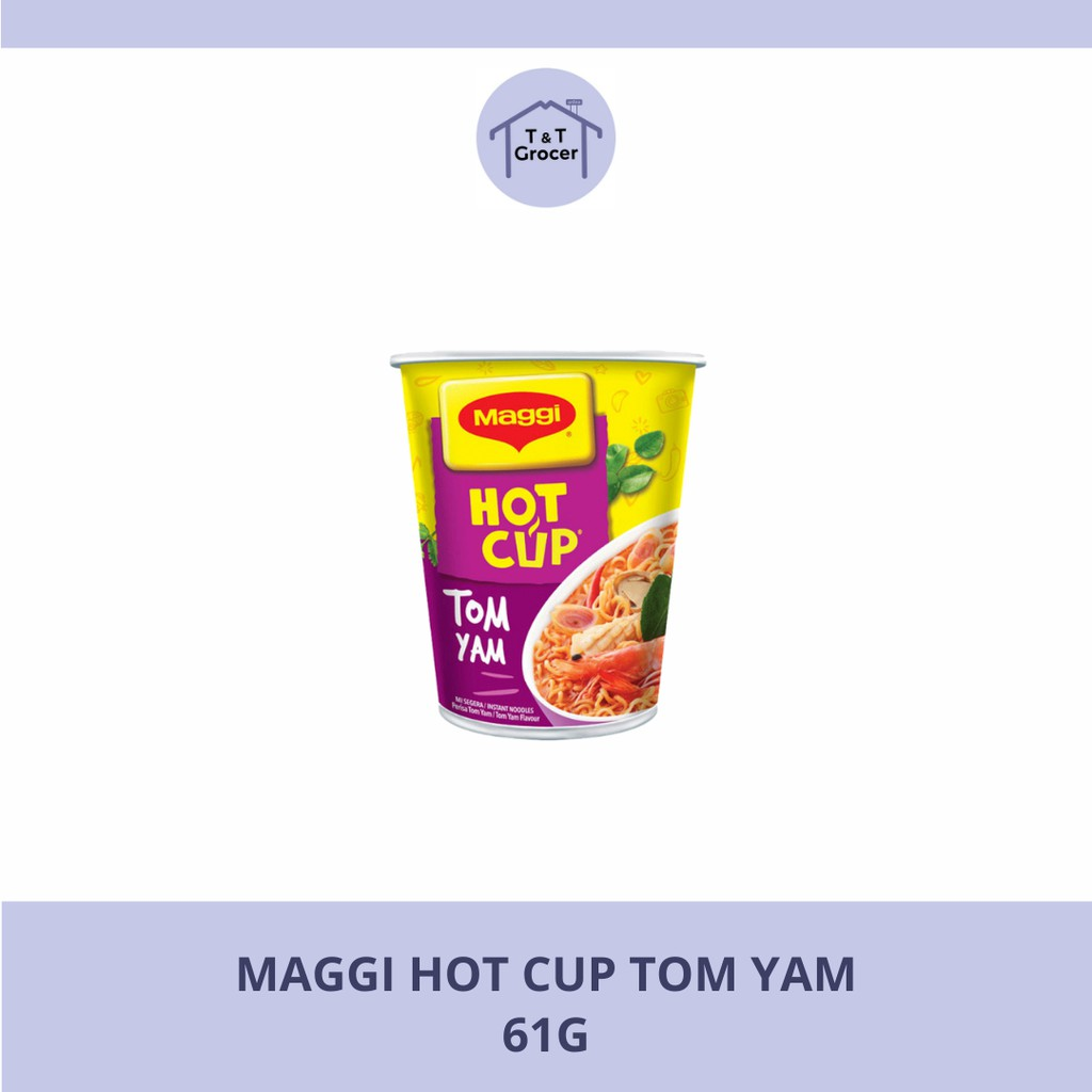 Maggi Hot Cup Tom Yam [61g]