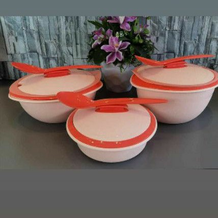 Tupperware INSULATED SERVING SET