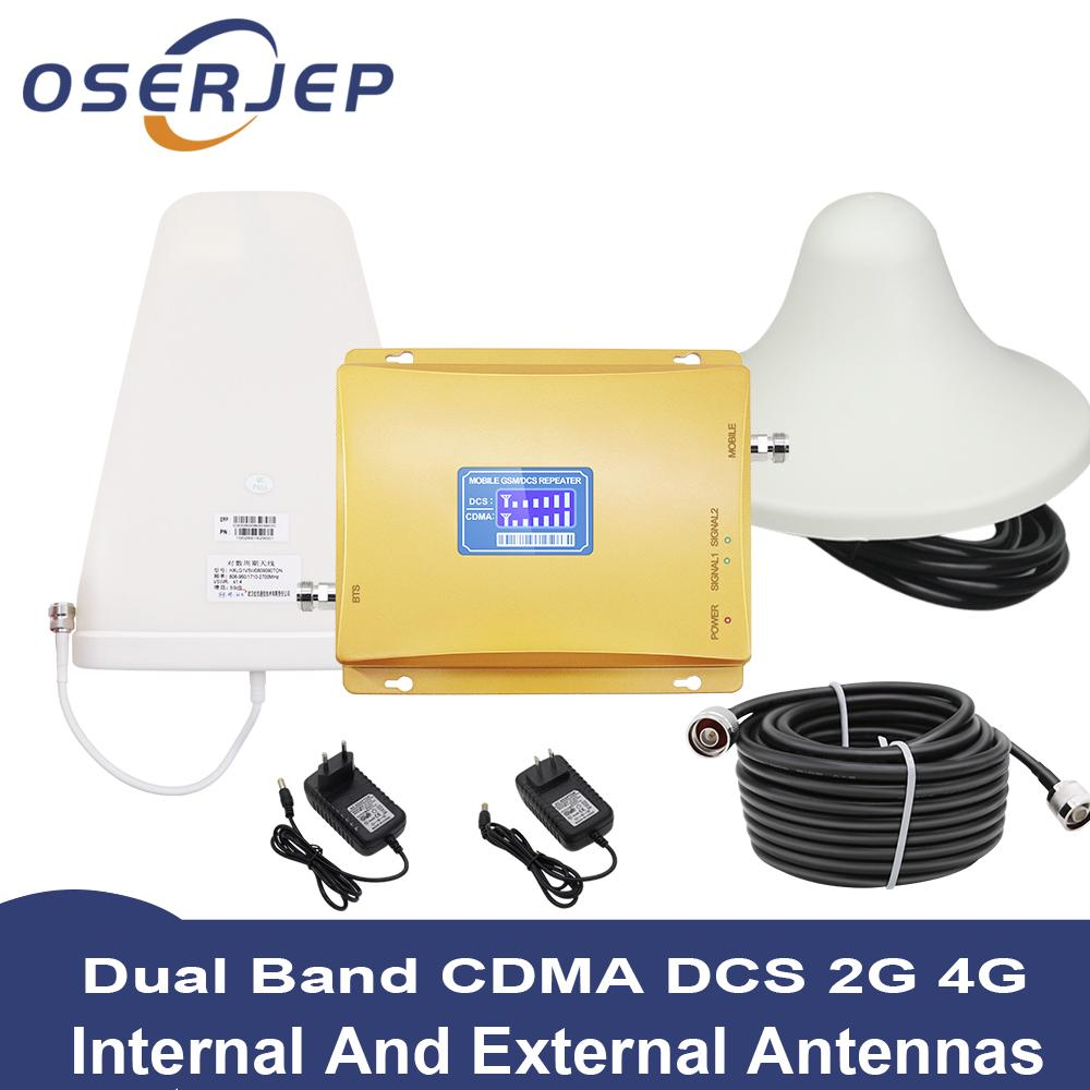 4e171256bc7c28 LCD Display GSM 850 4G 1800 Mhz Dual Band Phone Repeater LTE Mobile Repeater  | Shopee Malaysia