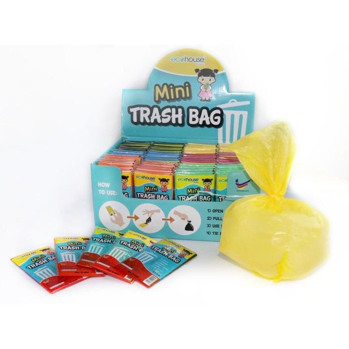 Ecohouse Mini Trash Bag 1 Box Thick Disposable Convenient  Recycling Disposable Degradable
