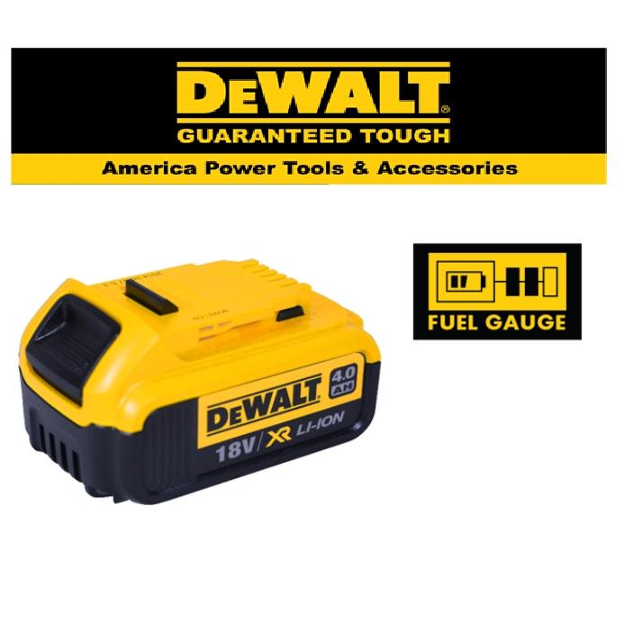 READY STOCK!DEWALT DCB182-XJ 18V XR Li-ion BATTERY (4.0Ah)EASY USE SAFETY GOOD  QUALITY