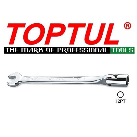 Toptul Swivel Socket Combination Wrench 8mm to 17mm Model AEEB