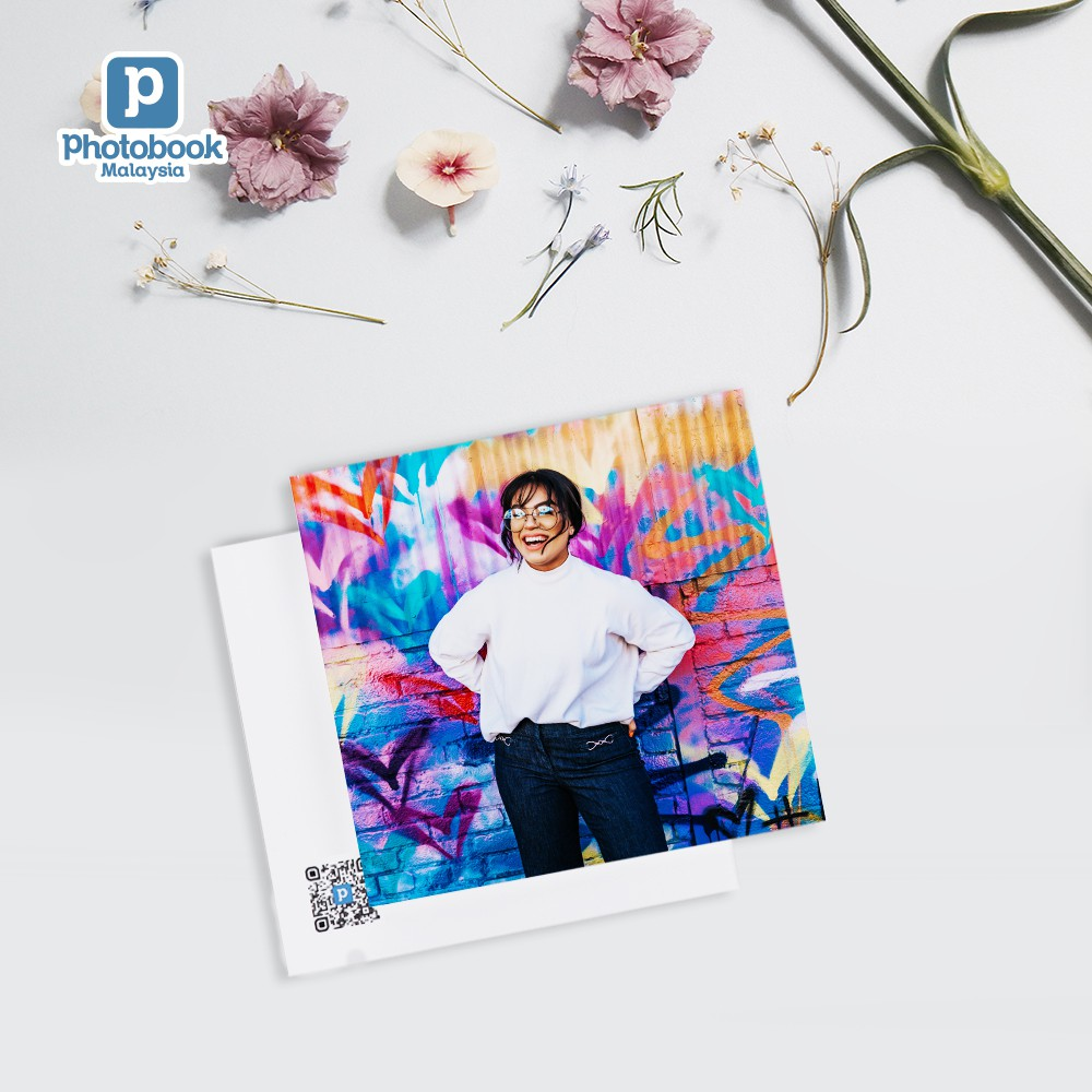 """Photobook Malaysia Square Lil' Photobook (20 Pages x 4"""" x 4"""")"""