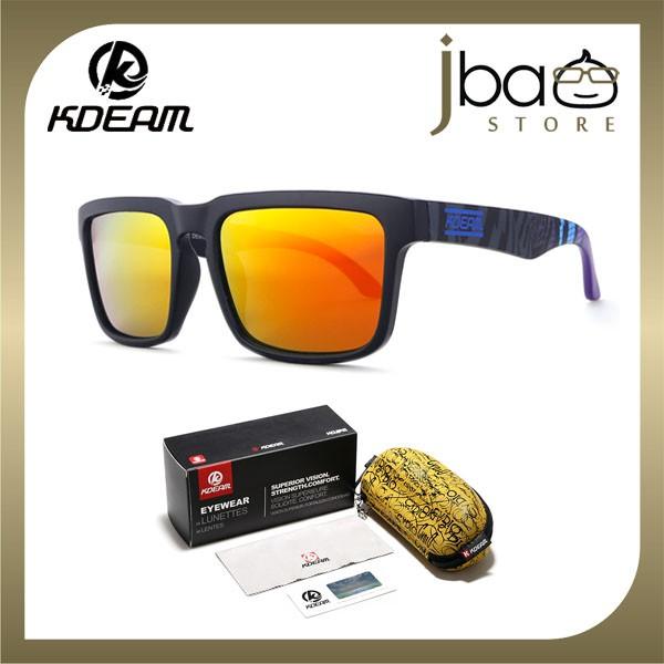 KDEAM Polarized Sunglasses Men Outdoor Sport Cycling KD901P-C20