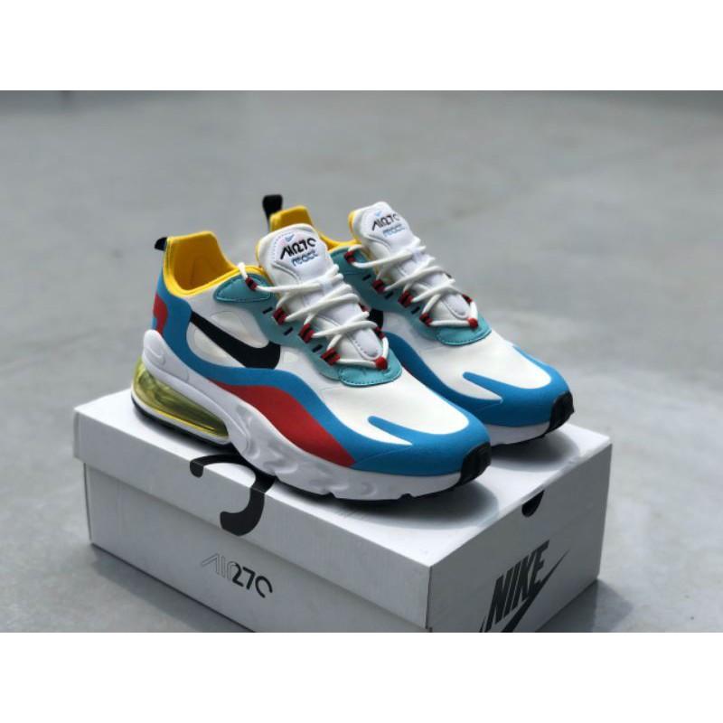 Nike Air Max 270 React Shoes (Whiteblue) Premium - 36-45 EURO
