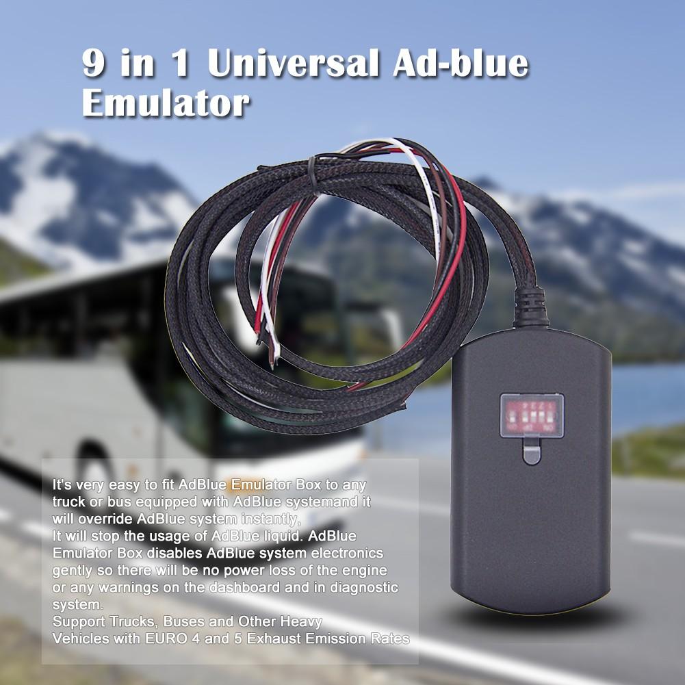 Adblue simulation 9 in 1 Obd2 simulator