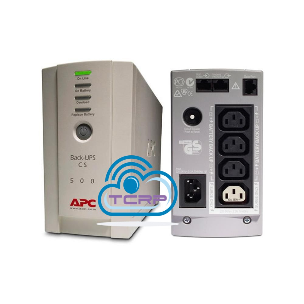 APC BATTERY BACKUP UPS CS SERIES BK500EI 500VA 230V