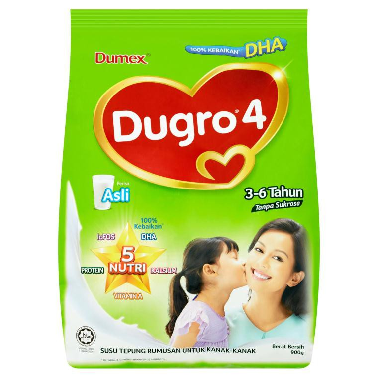 Product dugro step 4 growing up milk.