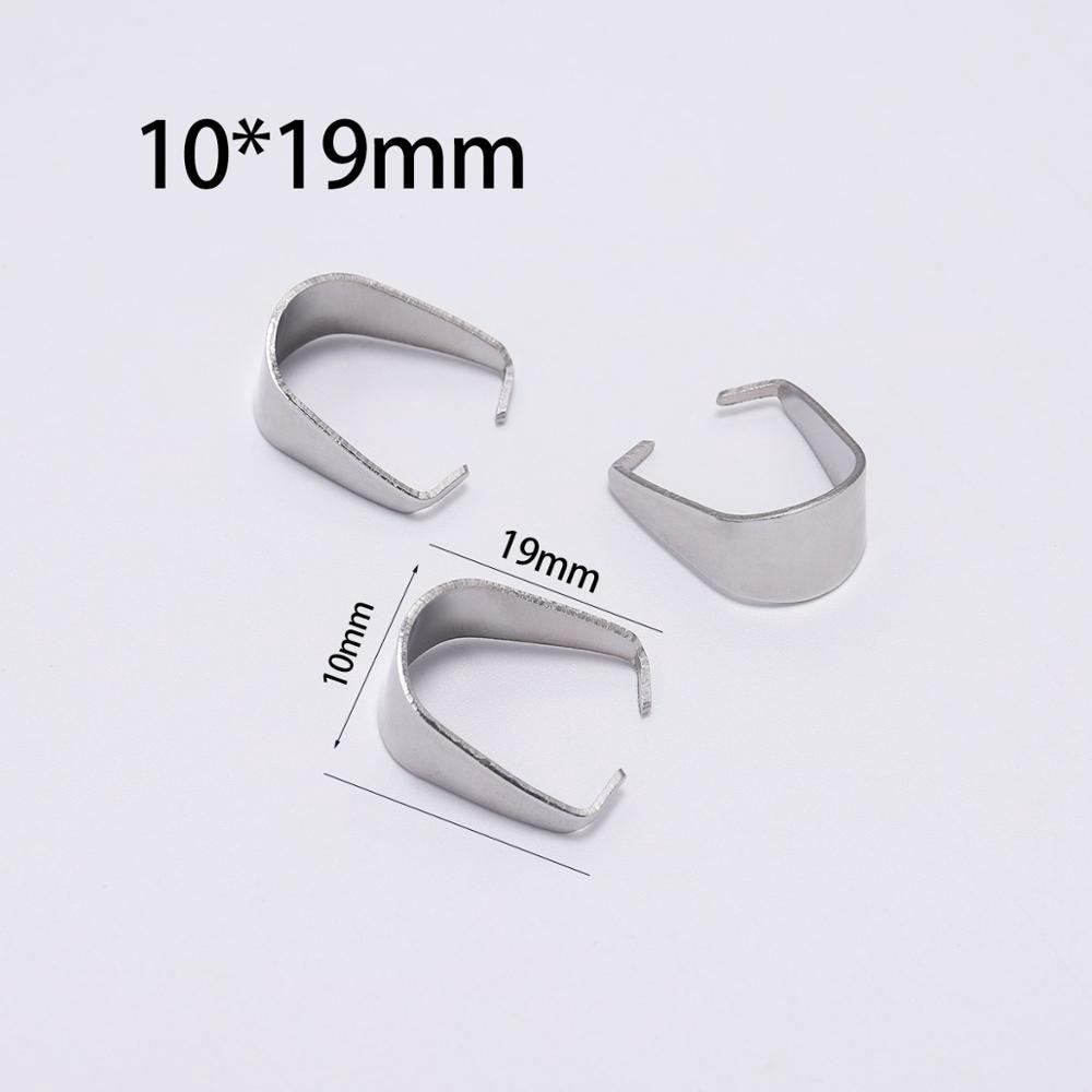 10 Pc Jewelry Clasps Clips Necklace Pinch Clasps Jewelry Making Connector