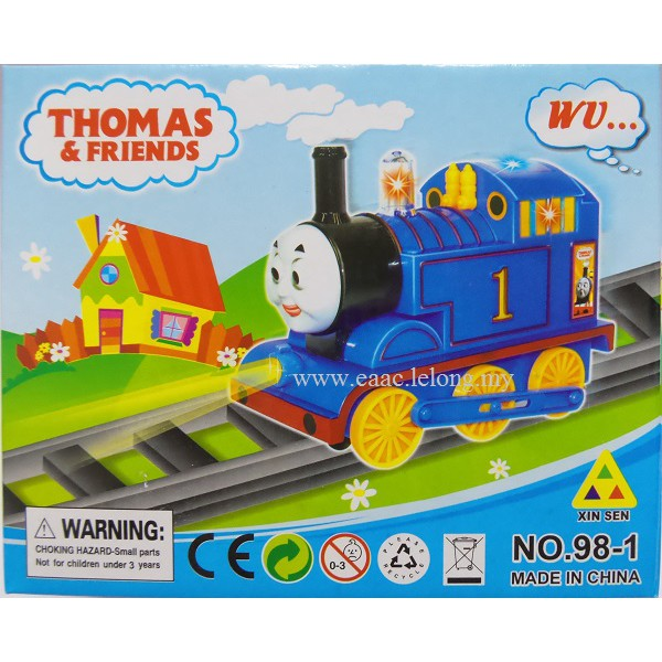 Thomas & Friends Train with Flare Lights & Train Steam Sound