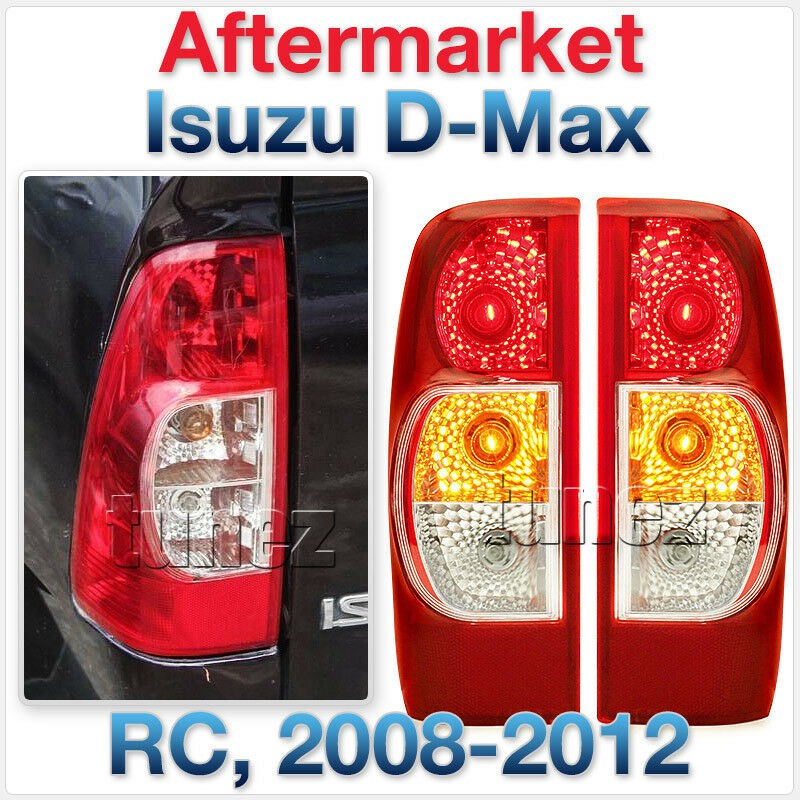 TUNEZ/® RIGHT Side Replacement Rear Tail Light Lamp For Ranger T6 PX MK1 MK2 MK3 2012 2013 2014 2015 2016 2017 2018 2019 OEM Fitting