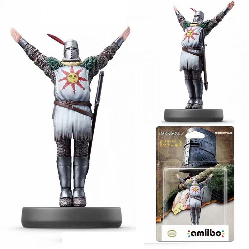 Action & Toy Figures Dark Souls Solaire Of Astora Amiibo Back Up On Gamestop Figure