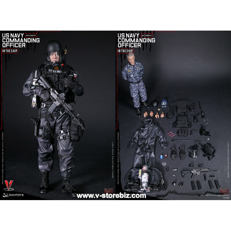 "DAMTOYS 78050 1//6 Scale Navy Commanding Officer 12/"" Action Figure Body Model"