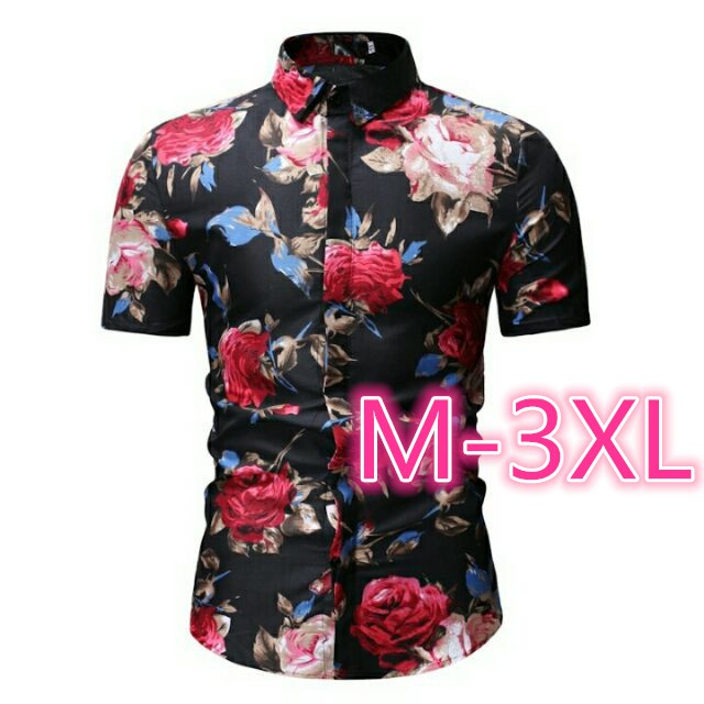 4d5a27a3 hawaiian shirts - Shirts Prices and Promotions - Men's Clothing Feb 2019 |  Shopee Malaysia