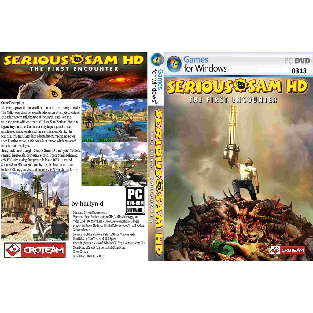 (PC) Serious Sam HD The First Encounter