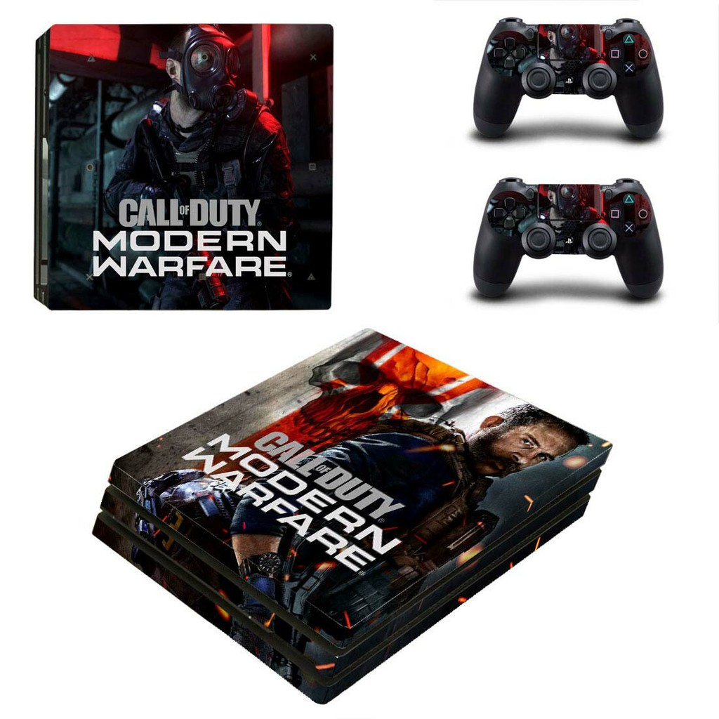 Call Of Duty Modern Warfare Ps4 Pro Skin Sticker Decal Vinyl For Sony Playstation 4 Console Controller Ps4 Pro Skin Shopee Malaysia