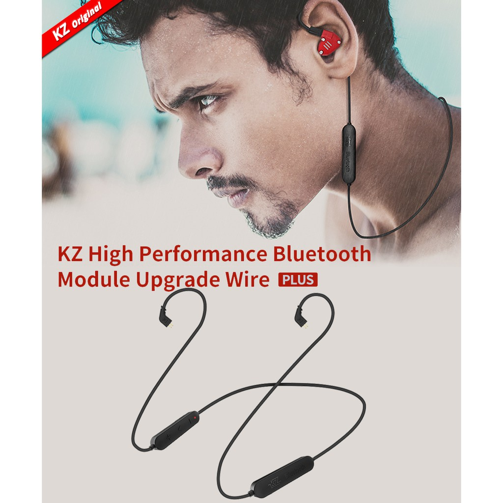 Kz Earphones Upgrade Bluetooth Cable Shopee Malaysia Kabel Module Knowledge Zenith Zs3 Zs5 Zs6 Zst