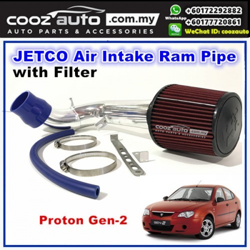 Proton Gen2 Gen-2 Jetco Air Intake Ram Pipe with Filter