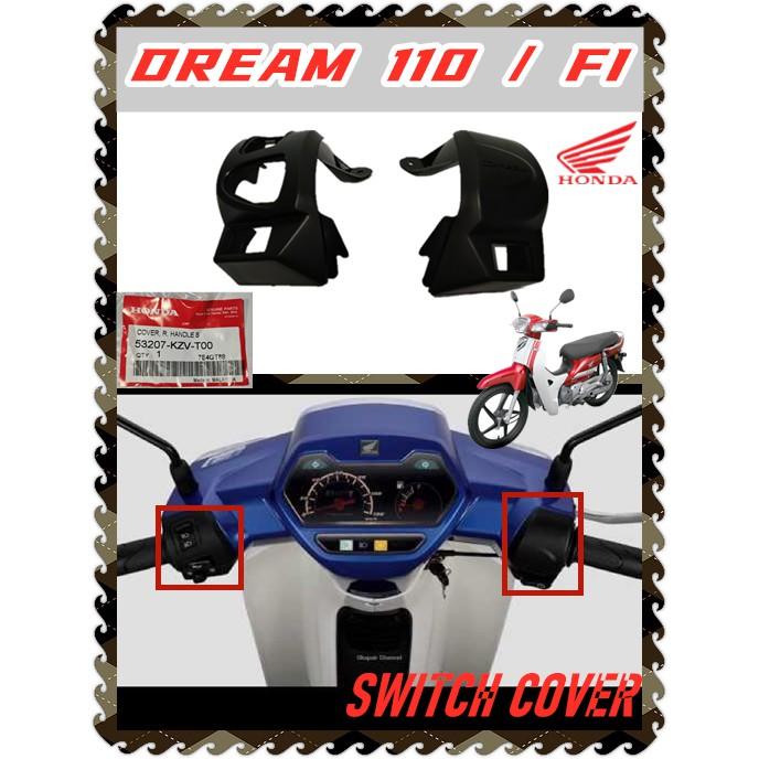 100% ORIGINAL BONNSIEW HONDA EX5 DREAM110 DREAM 110 FI HANDLE SWITCH COVER CAP WITH OUT BUTTON HORN STARTOR SIGNAL