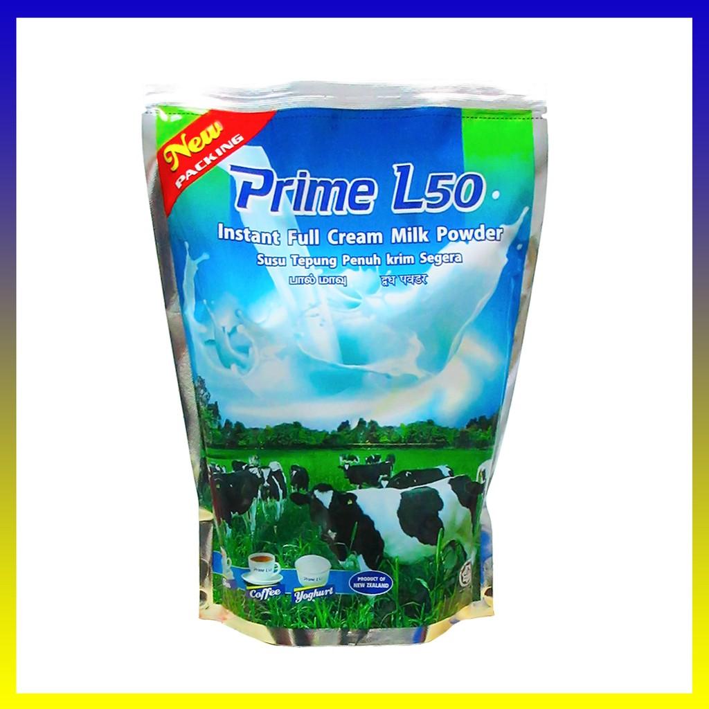 Prime L50 Full Cream Milk Powder 1kg (Imported from New Zealand) Susu tepung Penuh Krim L50 Primel