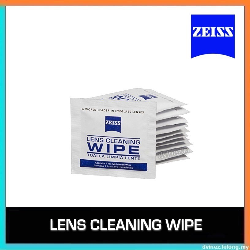 Zeiss Camera Spectacle Optical Lens Watch iPhone LCD Screen Cleaning Wipe
