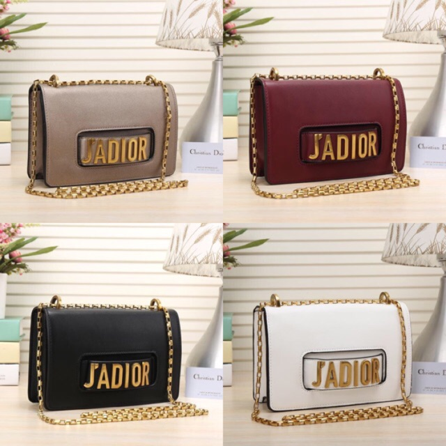 Dior J adior flap bag with the chain I Ready Stock b7529af2d6638